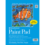 Strathmore 100 Series Kids' Art Paper Paint Pad (20 Sheets) 9x12""