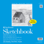 Strathmore 100 Series Kids' Art Paper Sketchbook (30 Sheets) 12x12""