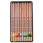 Koh-I-Noor Tri-Tone Colored Pencil Set of 12 - Assorted Colors