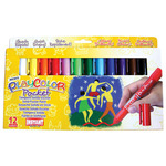 PlayColor Solid Poster Paint Crayons Set of 144 Pocket - Basic Colors
