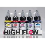 GOLDEN High Flow Acrylics Set of 10 30ml Bottles - Transparent Colors