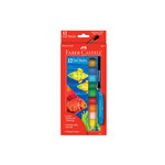 Faber-Castell Gel Sticks Set of 12 with Brush