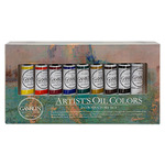 Gamblin Artist's Oil Color Artists Oil Colors Introductory Set of 9 Colors