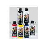 Auto Air Airbrush Colors Set of 6 4 oz - Transparent Colors
