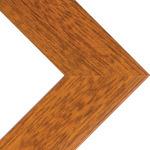 "Phoenix 1"" Wood Frame with acrylic glazing and cardboard backing 22x28"" - Pecan"