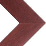 "Phoenix 1"" Wood Frame with acrylic glazing and cardboard backing 22x28"" - Mahogany"