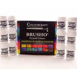 Brusho Crystal Colours & Sets by Colourcraft