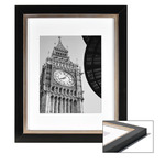 "Box of 3 Black 20x20""/8x8"" Frames"
