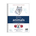 "Strathmore Learning Series - Learn to Draw Animals 9 x 12"" Pad"