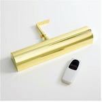 "LED Concept Cordless Picture Light 11 1/2"" Polished Brass 101L"