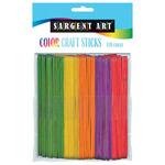 120Ct Sargent Art Craft Sticks Colors