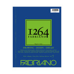 Fabriano 1264 Drawing 90lb (40-Sheet) Spiral Pad 9x12