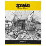"SoHo Urban Artist 242 gsm Bristol Paper Pad 14x17"" (20-Sheets)"
