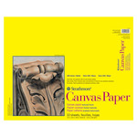 "Strathmore 300 Series Canvas Paper 16x20"" Glue Bound Pad Square"