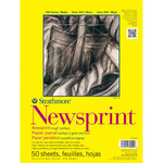 Strathmore 300 Series Rough Newsprint Pads