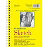"Strathmore 300 Series Sketch Pad 5.5x8.5"" 100 Sheets"