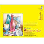 "Strathmore 300 Series 140lb Watercolor Pad 18x24"" Wire bound 12 Sheets"