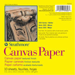 "Strathmore 300 Series Canvas Paper 6x6"" Glue Bound Pad Square"