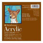 """Strathmore 400 Series Acrylic Pad 12x12"""" 10 Sheets"""