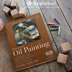 Strathmore 400 Series Oil Painting Paper Pads and Sheets