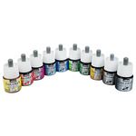Pebeo Colorex Watercolor Ink 45 ml Set of 10 Colors In Studio Case