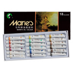 Marie's Extra-Fine Artists' Oil Colour Set of 18