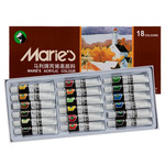 Marie's Extra Fine Acrylic Set of 18 12 ml Tubes