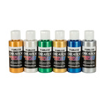Createx Airbrush Colors Pearlized 2oz Set of 6