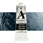 Grumbacher Academy Oil Color 150 ml Tube - Ivory Black