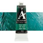 Grumbacher Academy Oil Color 150 ml Tube - Thalo Green