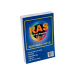 RAS Kids Art Resealable Multi-Media Paper Packs 100 sheets
