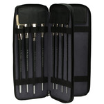 Creative Mark Genuine Leather Brush Cases