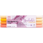 Kuretake Zig Brushable Marker Set of 4 Yellows