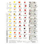 Daniel Smith Watercolors 238 Color Dot Card