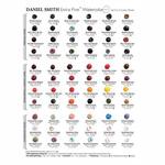 Daniel Smith Watercolors 66 Color Dot Card