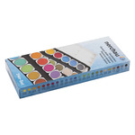 LUKAS Watercolor Opaque Pan Set of 24 Round Pans