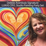 Debbie Arambula Signature LUKAS CRYL Studio Painting Party Set