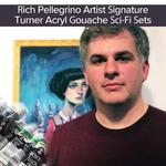 Rich Pellegrino Signature Turner Acryl Gouache SCI-FI Sets
