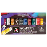 Grumbacher Academy Acrylics Tube Set of 10 - 24ml Tubes