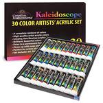 Creative Inspirations Acrylic Paints Set of 30 20Ml Tubes Kaleidoscope