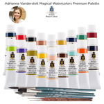 Adrianna Vanderstelt Magical Turner Watercolors Premium Palette