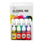 ArtResin™ Alcohol Ink 1/2 oz Set Of 8 Colors