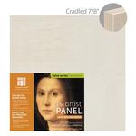 "Ampersand Value Series Unprimed Basswood Panel 7/8"" Cradle 12x12"""