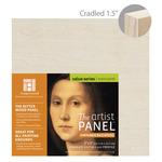 "Ampersand Value Series Unprimed Basswood Panel 1-1/2"" Cradle 5x5"""