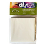 Ampersand Claybord Art Tile 1/8 in Flat 3.5 x 3.5 Pack Of 4
