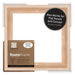 Ampersand Bold Floater Frame 10X10 For 7/8in Profile - Maple
