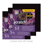 "Ampersand Scratchbord 5x5"" (3 Pack)"