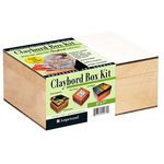 Ampersand Claybord Box Kit 5X7in with Hinged Box