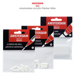 Amsterdam Acrylic Marker Nibs and Set of 3