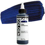 GOLDEN High Flow Acrylics Anthraquinone Blue (Indigo) 4 oz